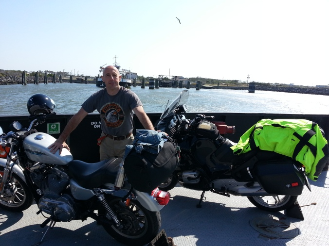 Leaving Cedar Point