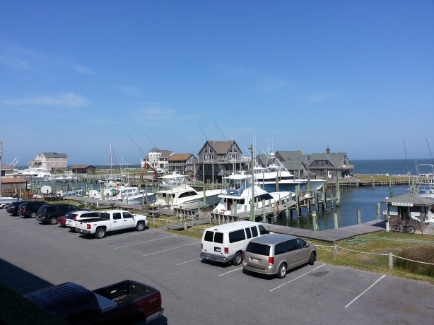 View from Hatteras hotel!