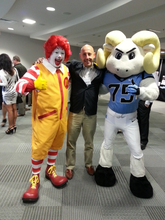 Two of my favorite guys Ramses and Ronald!