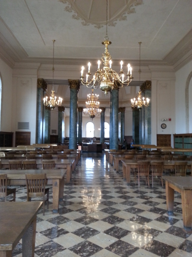 Wilson Library Reading Room