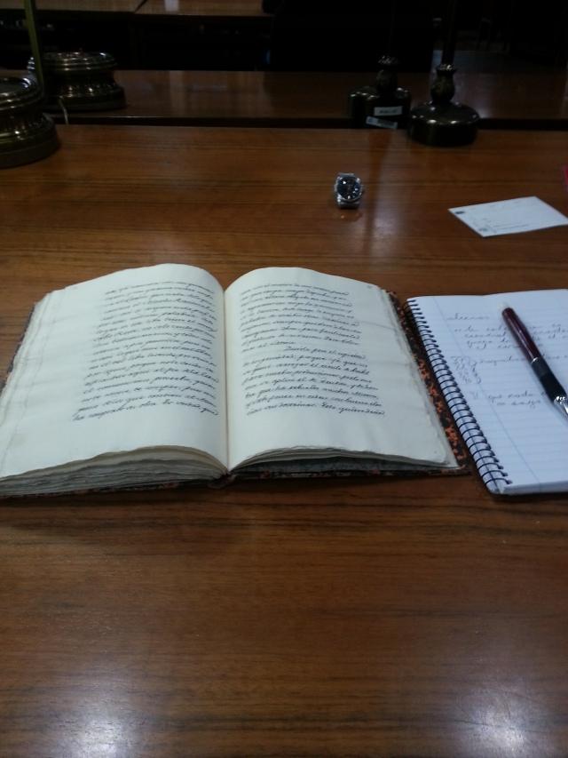 18th C. Padre Isla manuscript