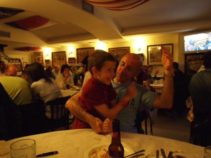 With my nephew Jimmy