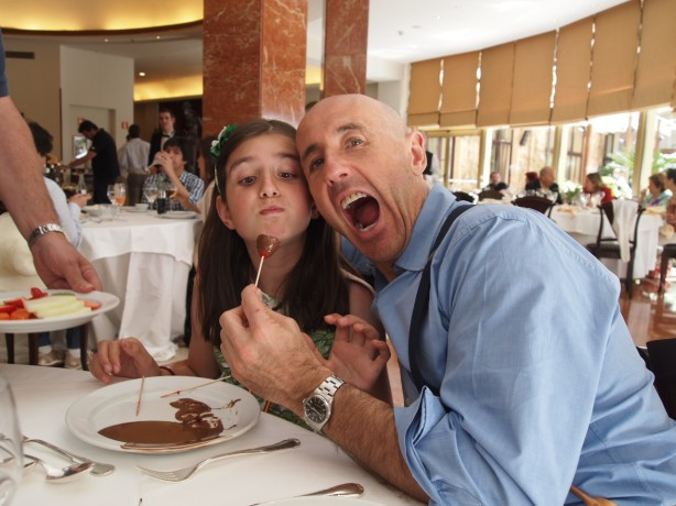 Dad's birthday lunch!
