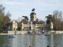 Alfonso XII monument Retiro Park, Madrid