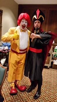 Ronald and Jafar