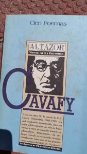 my old Cavafy