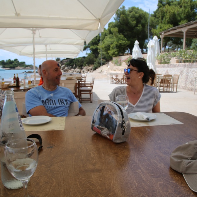 Lunch in Spetses