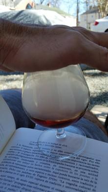 Smoked brandy de Jerez
