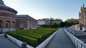 """Museo del Prado """"Back yard"""""""