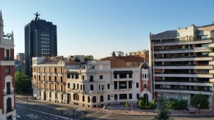 My view of Madrid
