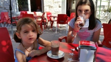 Morning coffee at Marcelino