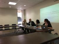 Chairing the Don Quixote panel at the UNC Conference on Romance Studies