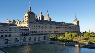 Yearly pilgrimage to El Escorial with dear Patxi