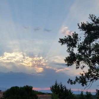 La Navata sunset