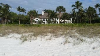 Homes on the beach