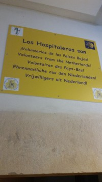 Hospitalarios are volunteers, treat them with respect.
