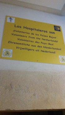 Hospitalarios are volunteers, treat them with respect.