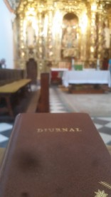 Prayer time in the chapel