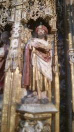 It was nice to be greeted by my old friend St. James so far away from the Camino.