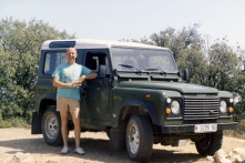 My uncle Antonio (the car was mine)