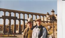 My dad and I in Segovia (early 90s?)