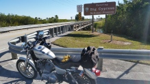 """On our way to Miami crossing """"Alligator Alley"""""""