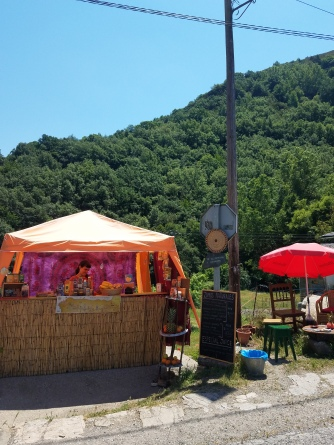 Stands along the Camino make great juices and smoothies!!