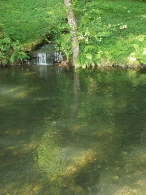 Lots of ice cold streams to dip in after a hot day