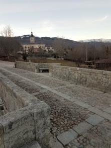 Medieval bridge outside the monastery