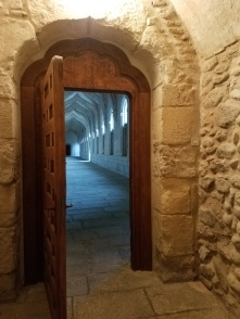 Entry into to cloister