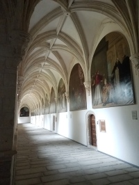 There are 52 Carducho's around the cloister