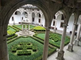 One of four Parador cloisters