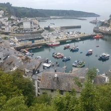 The pretty town of Luarca in Asturias