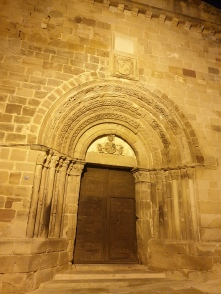 Romanesque door