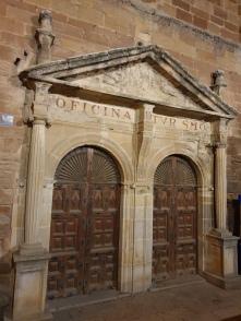 Neoclassical door