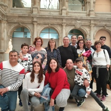 A group in the Prado Museum (in the Jerónimos cloister)
