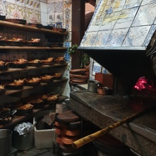 The almost 300 year old oven at Botín