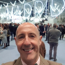Working at the tourism trade show FITUR