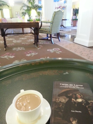 My Sunday morning coffee at the Carolina Inn during my PhD