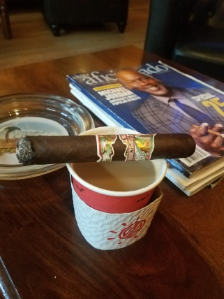 Cigars and coffee are a good pairing