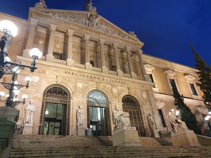 Biblioteca Nacional, Madrid