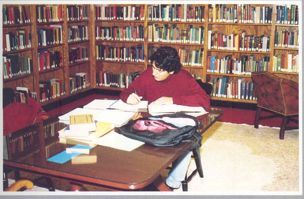 Bowles Reading Room 1992 (After I graduated) (PC: Bentley Archives)