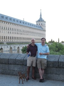 The founders of the Asociación A. de Amantes de El Escorial
