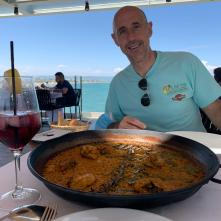 Nothing quite like a paella by the sea