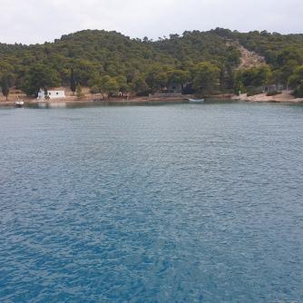 Zogaria cove in Spetses