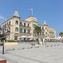 the lovely Poseidonion hotel