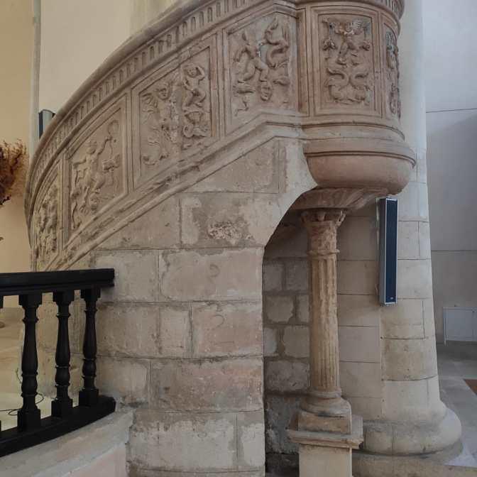 Elegant Renaissance pulpit
